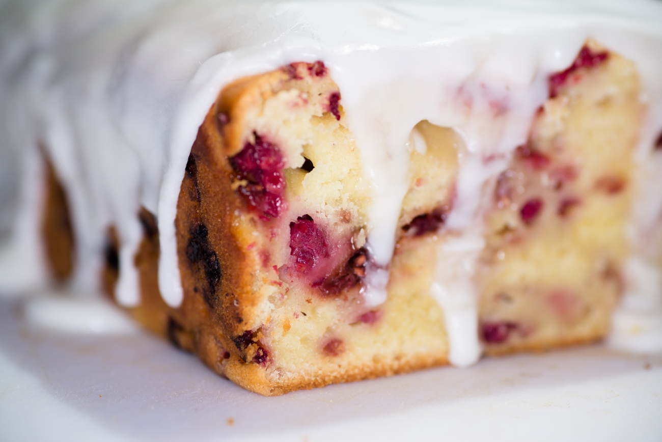 Lemon Raspberry Bread 1