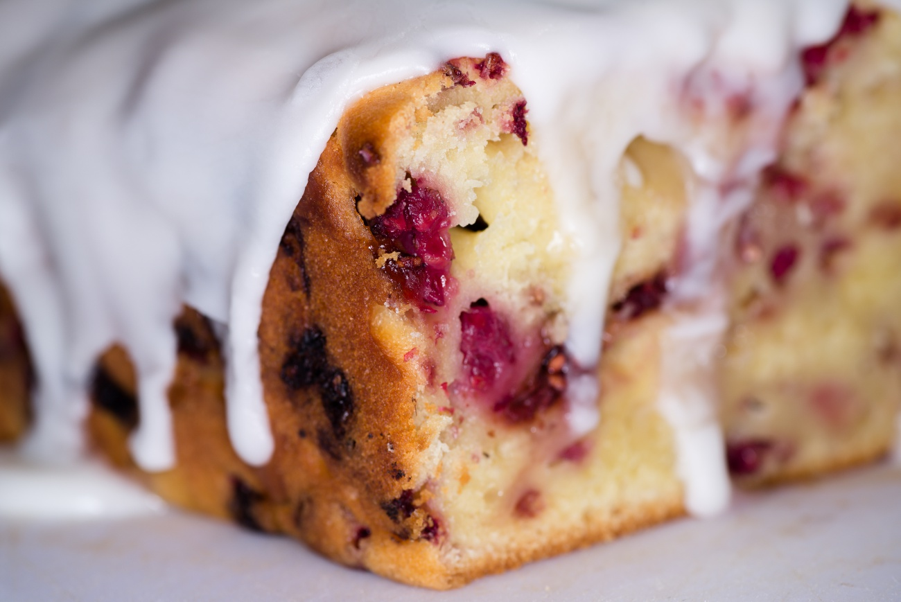 Lemon Raspberry Bread 2