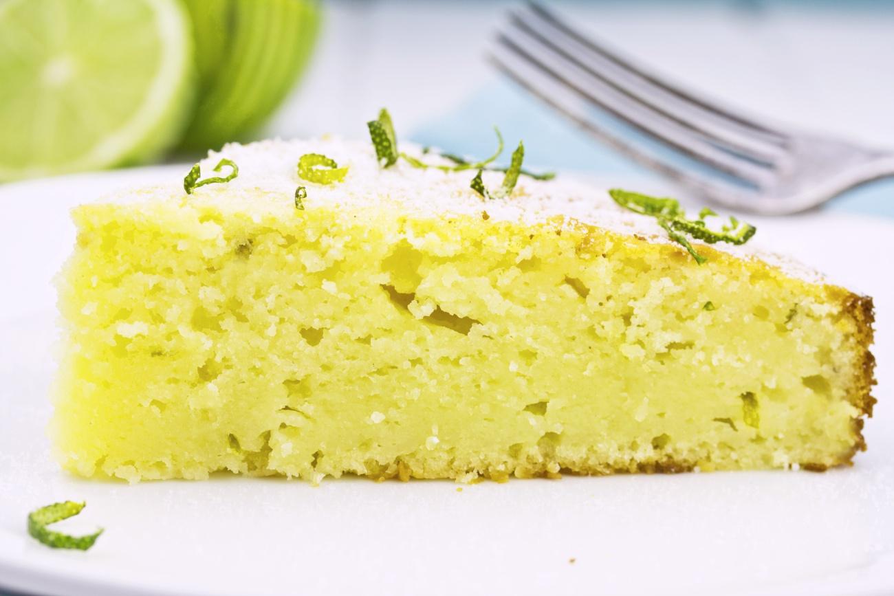 Lime Yogurt Cake 1