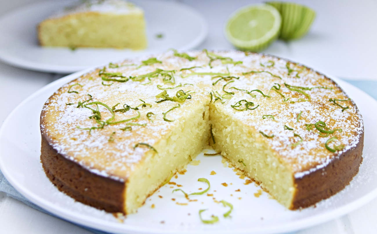 Lime Yogurt Cake 2