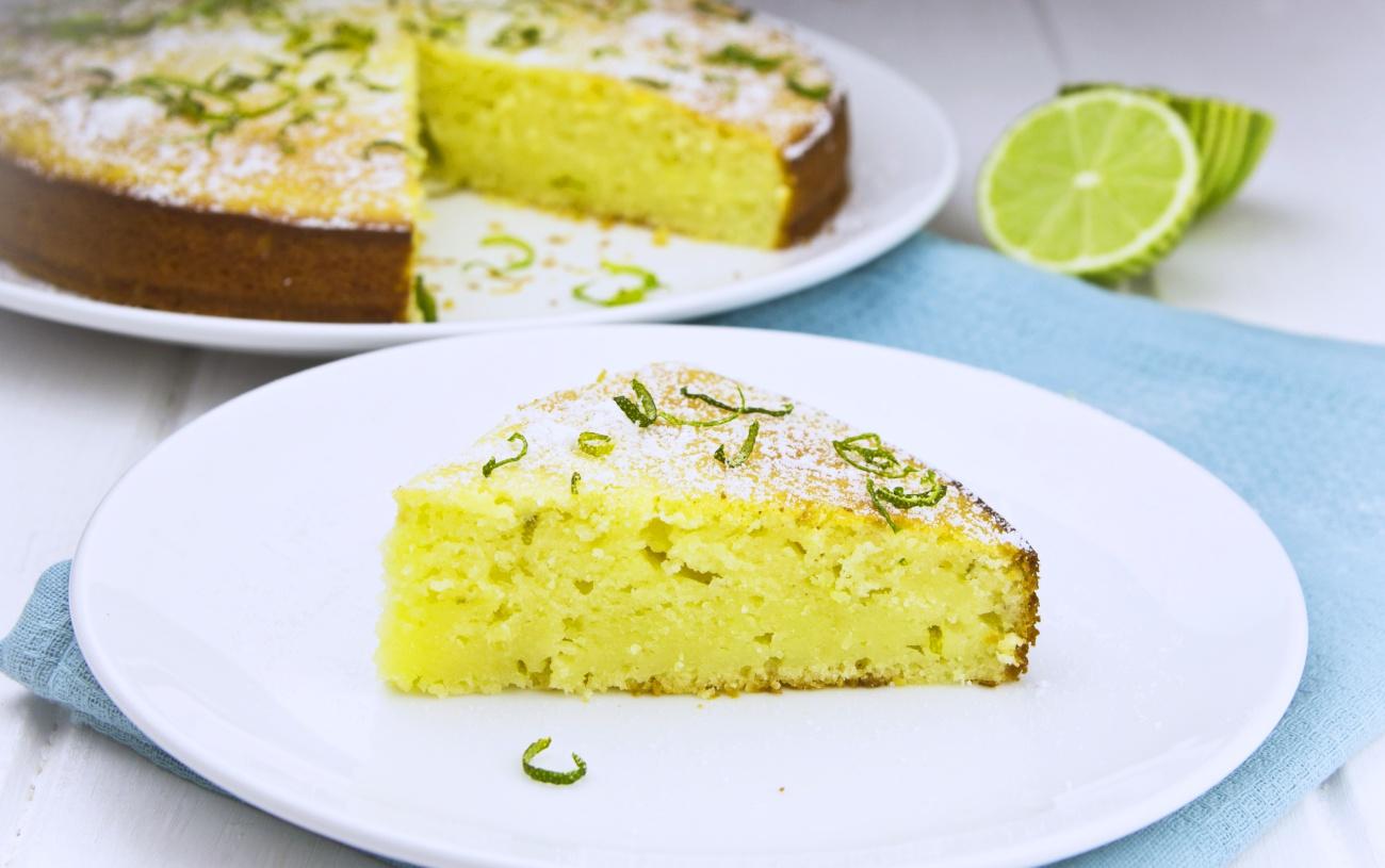 Lime Yogurt Cake 4