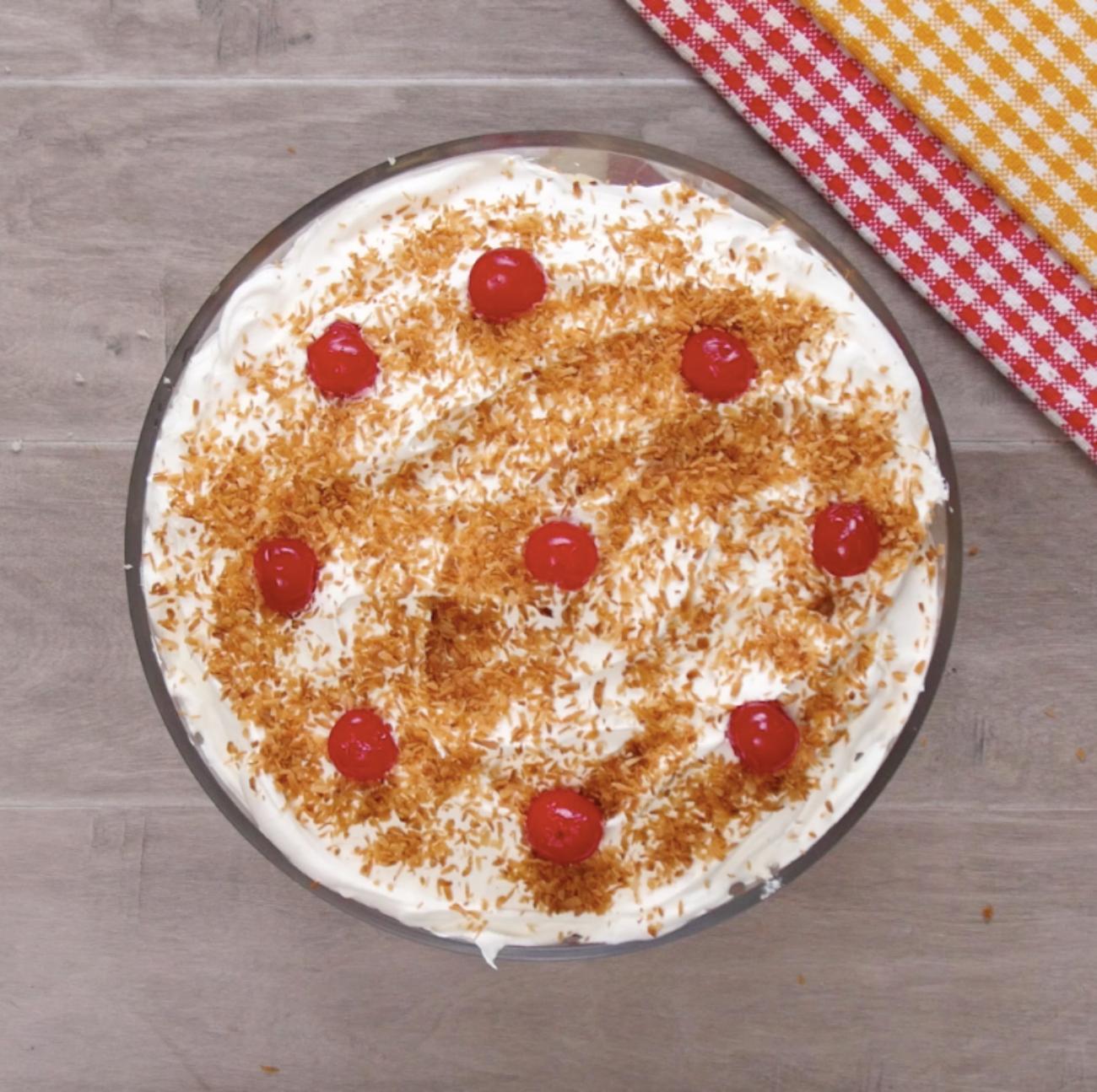 Pina Colada Trifle 1