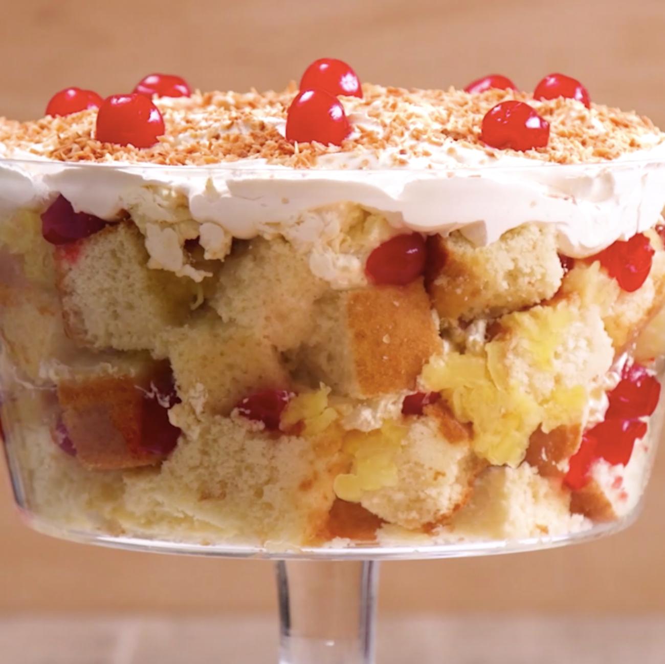 Pina Colada Trifle 2