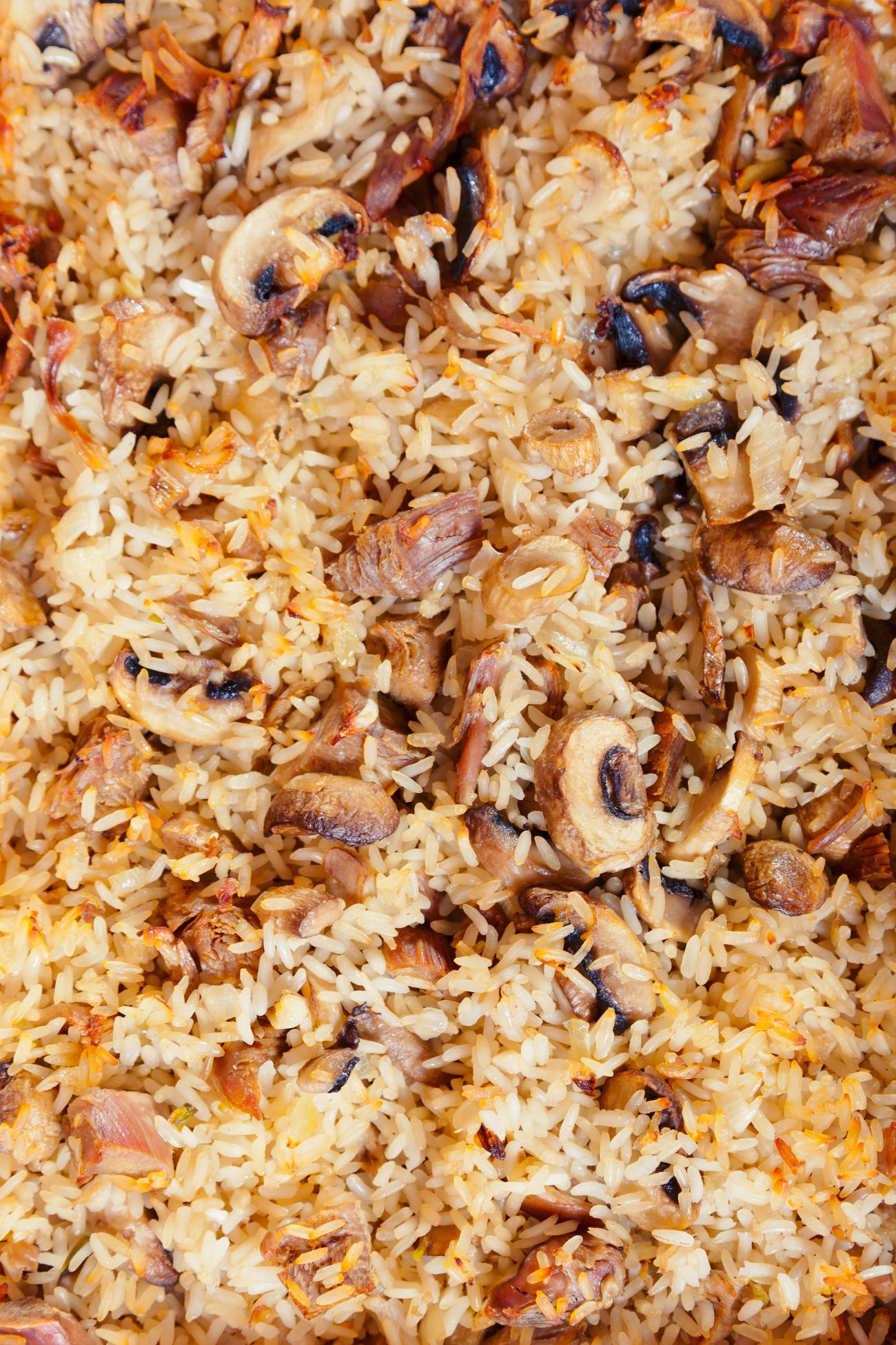 Rice and Pork Bake