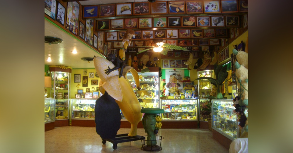 Photo: Facebook/International Banana Museum
