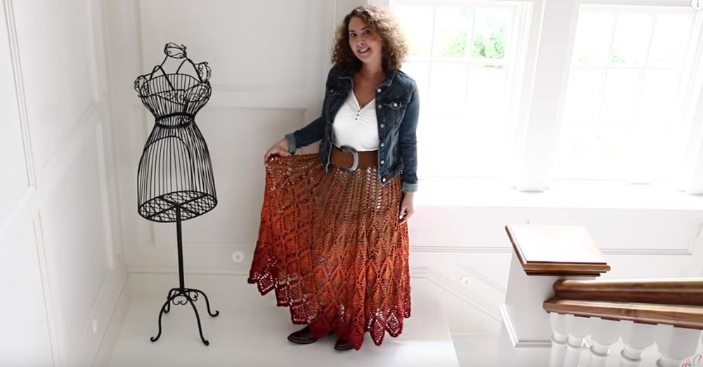 crochet skirt 1