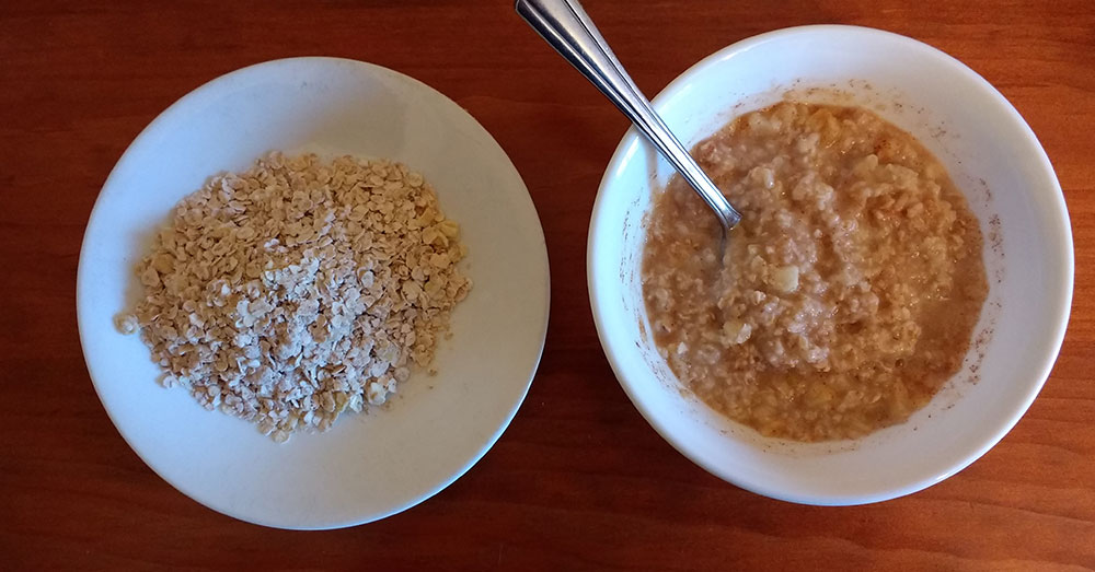 Source: Wikimedia Commons Instant oats have been found to contain glyphosates.
