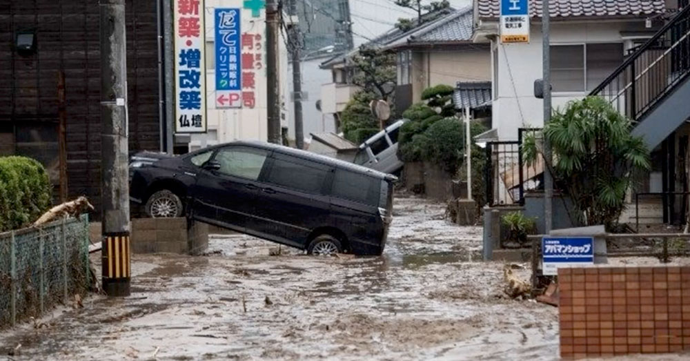 Source: YouTube/Cities of the World It will be some time until homes in the Ehime Prefecture are rebuilt.