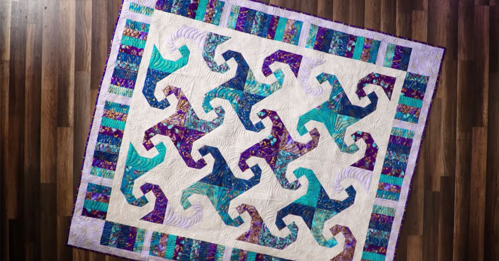 Start With A 4 Patch And A Few Steps Later Get This Gorgeous Quilt