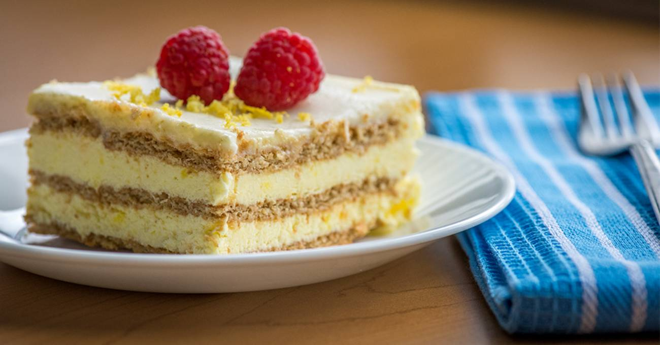 4 No Bake Cake Lemon Icebox Cake