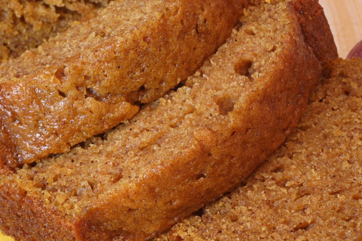 Close-up of Pumpkin Bread