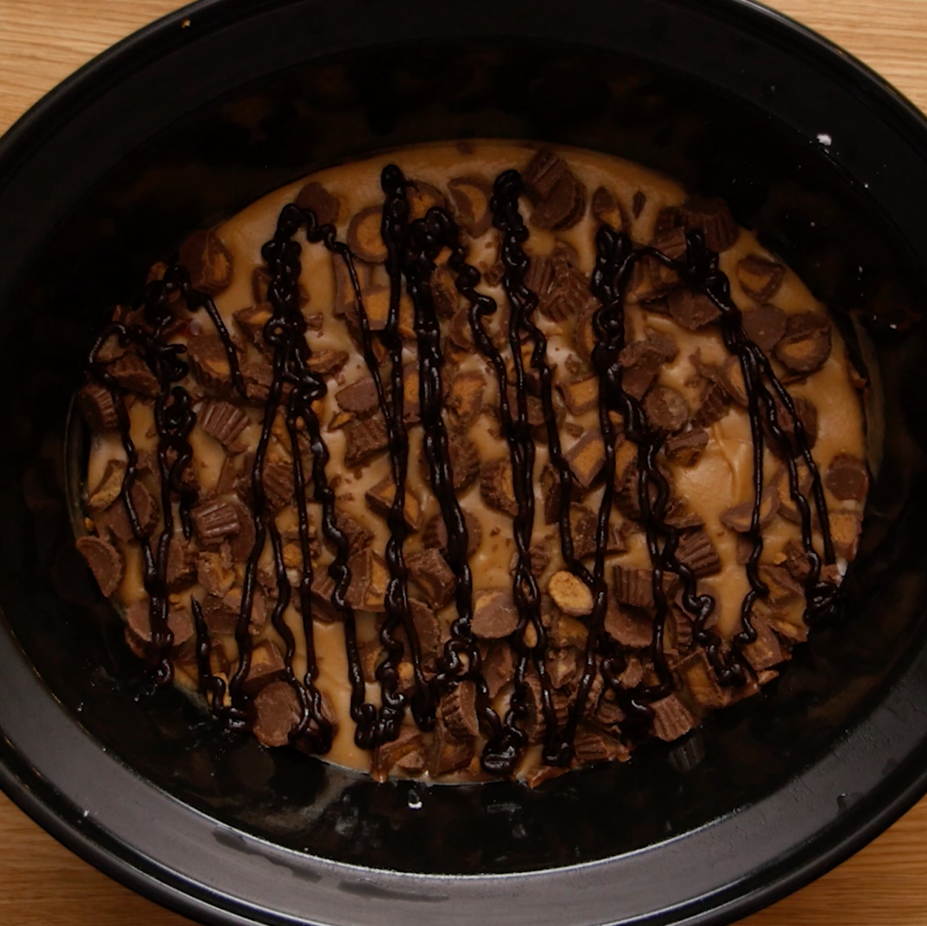 Slow Cooker Reese's Cake