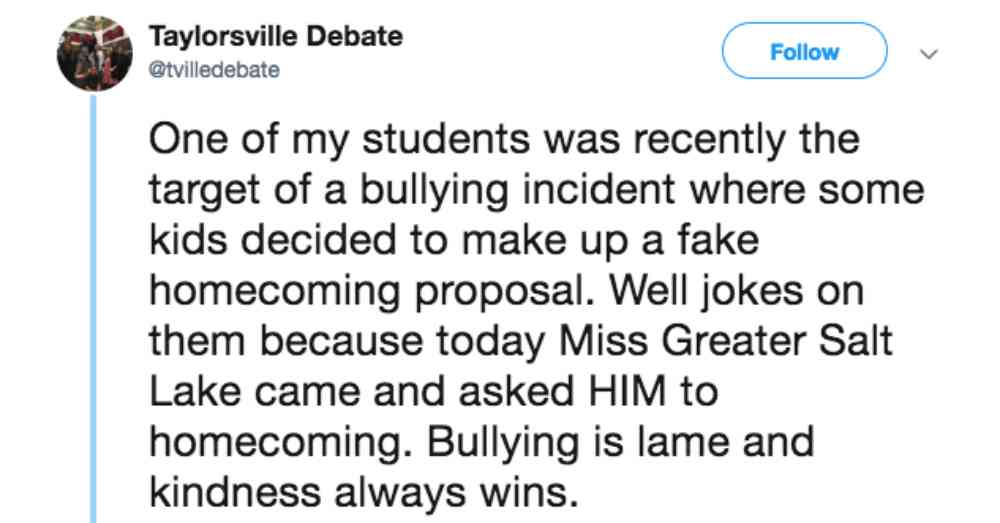 Photo: Twitter/Taylorsville Debate