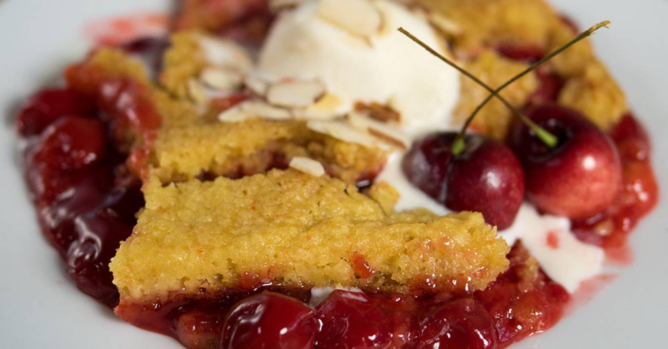 4 Slow Cooker Desserts_Cherry Dump Cake