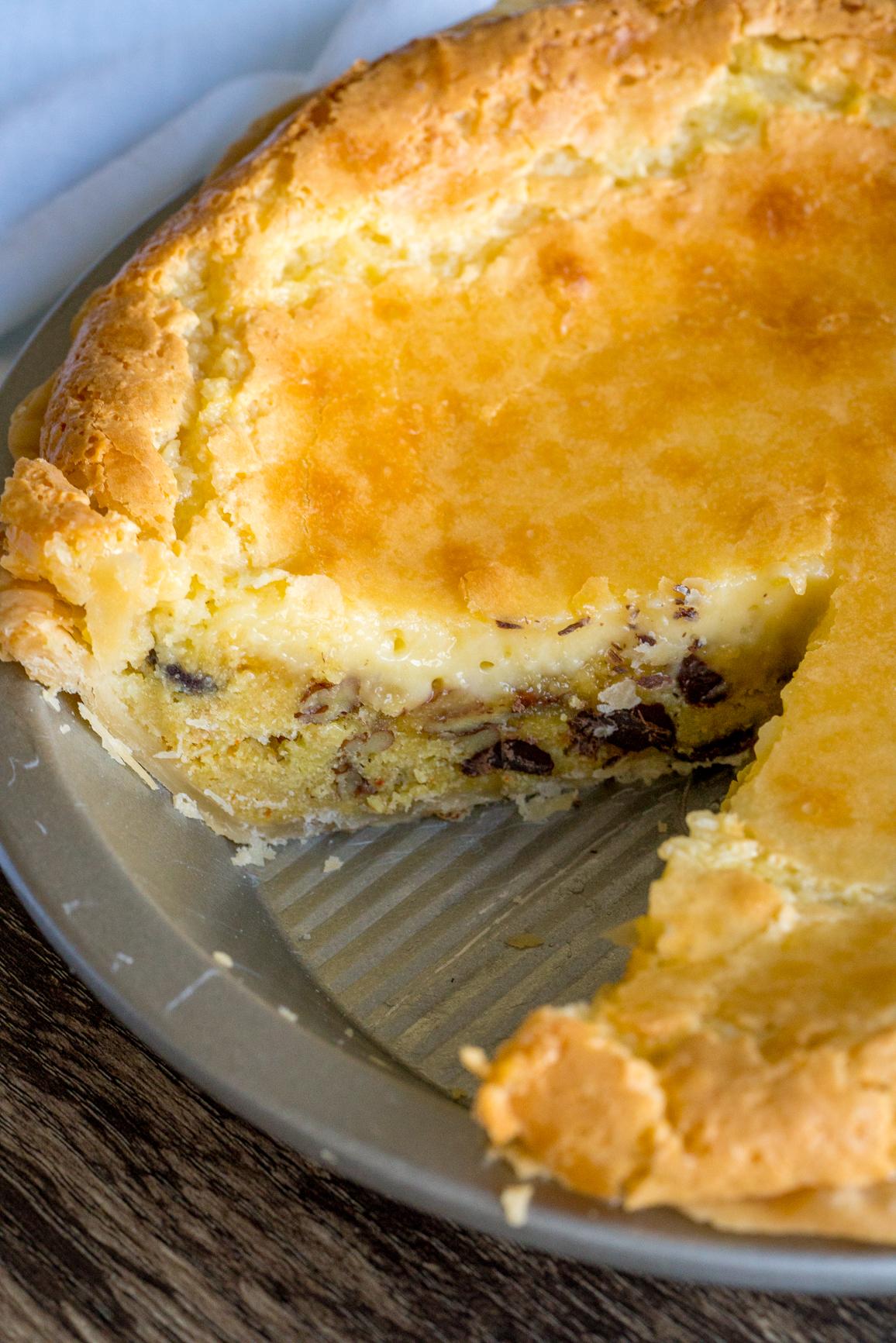 Bayou Brownie Pie DSC00432