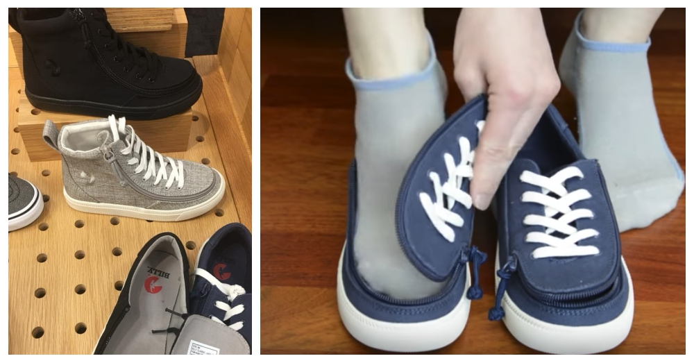 Photo: Facebook/Nicole Goodwin Hulbert and YouTube/BILLY Footwear