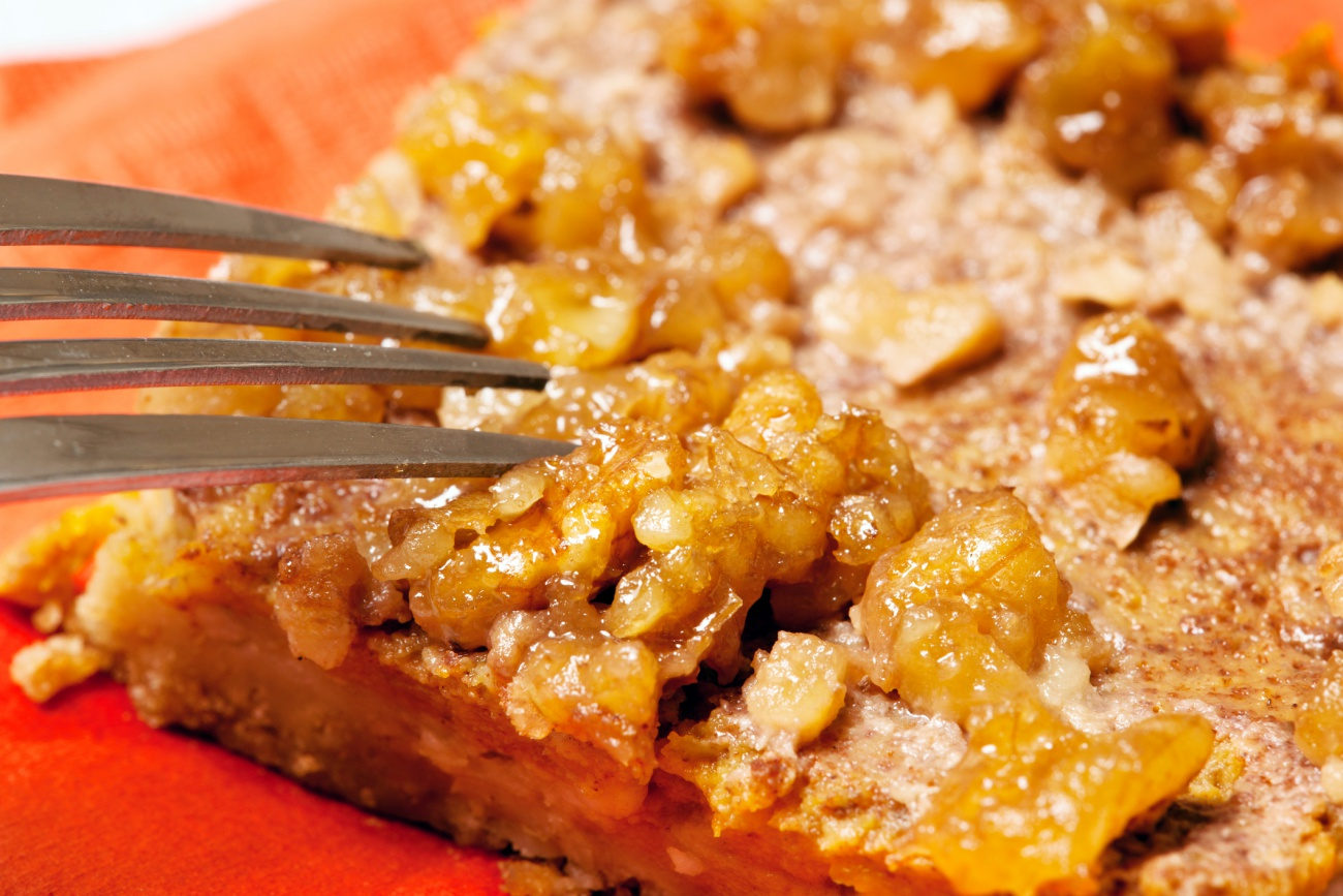 Sticky Pumpkin Bars