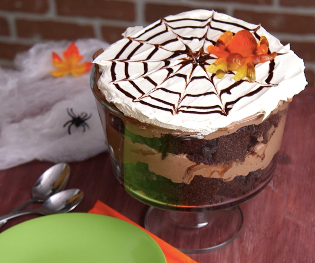 Spider Trifle 1