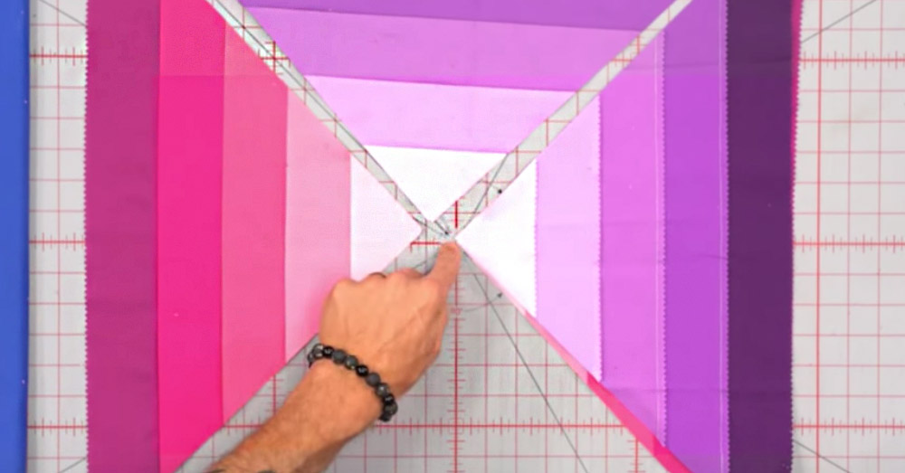 pyramid quilt 3