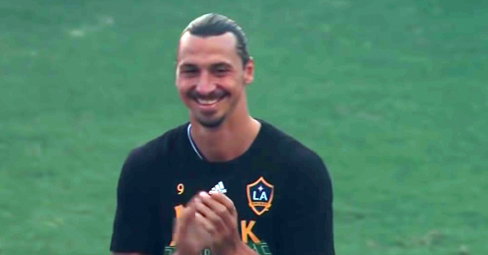 Source: YouTube/Major League Soccer Even Zlatan Ibrahimović approves.