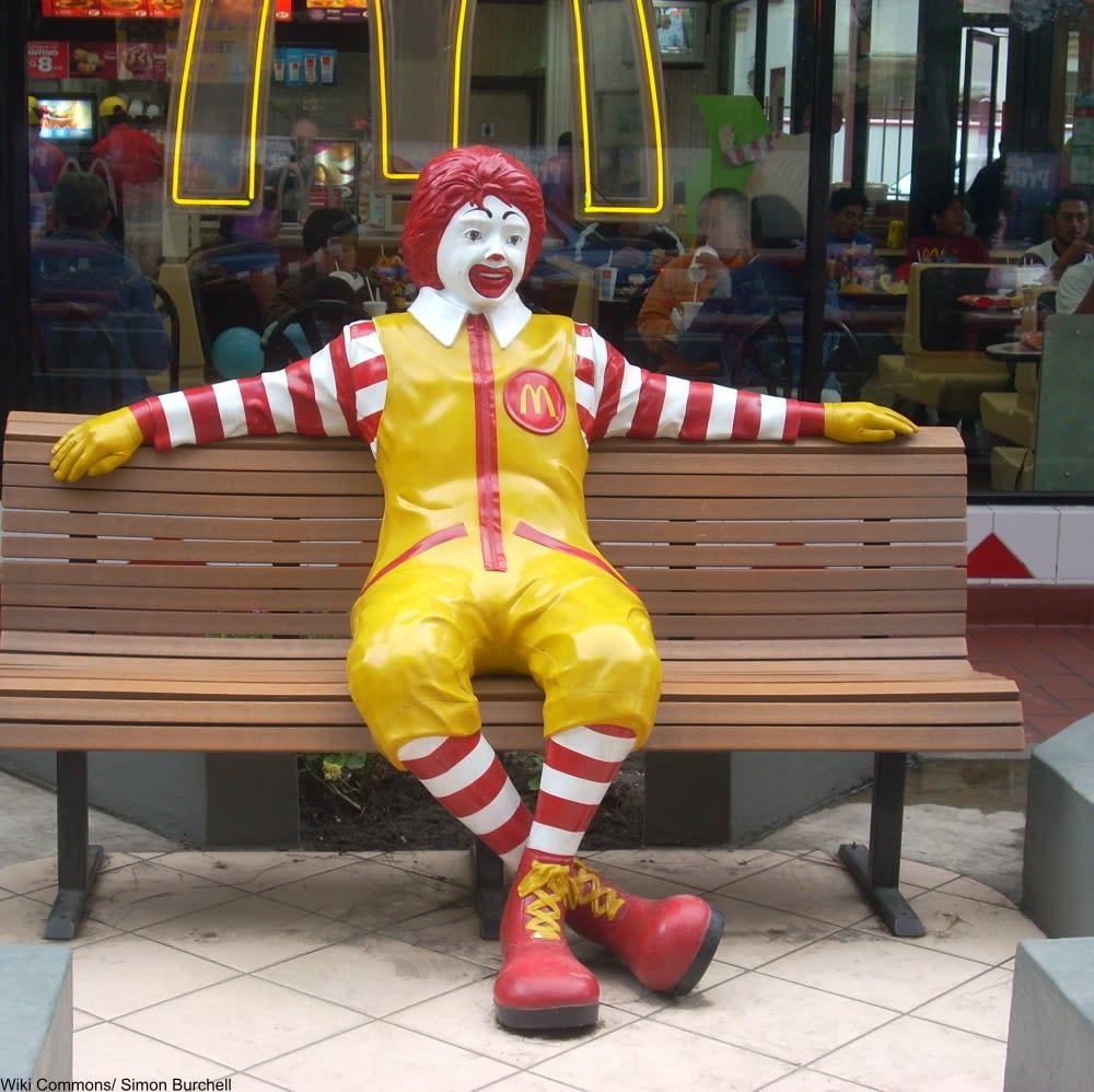 Old Mcdonald S Logo: The Original Ronald McDonald Was A Little Scary