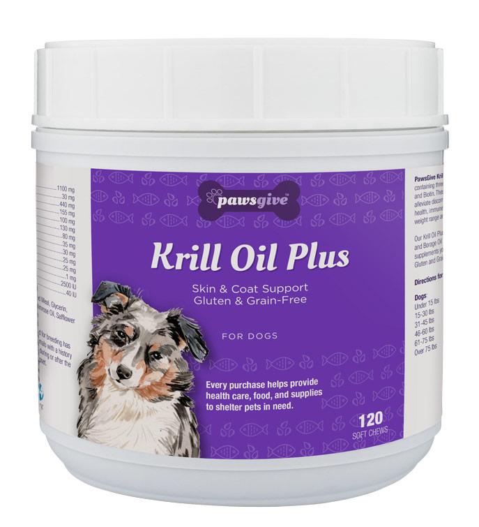 PawsGive Krill Oil Plus