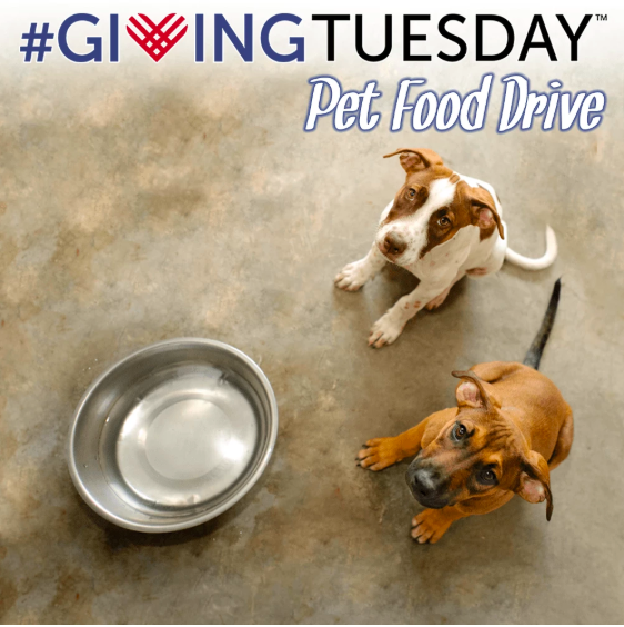 Giving Tuesday Pet Food Drive