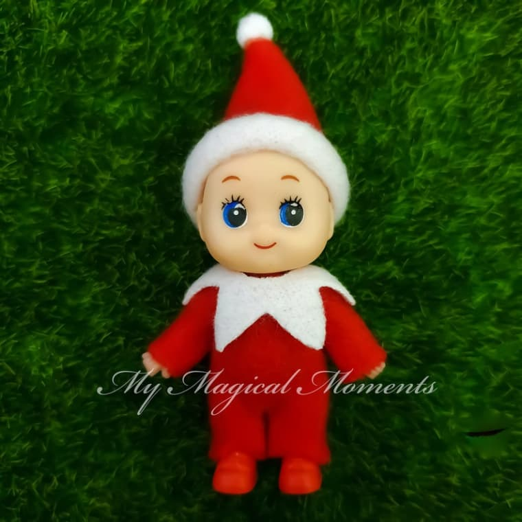 Santa/'s Little Elf Christmas Baby Pacifier