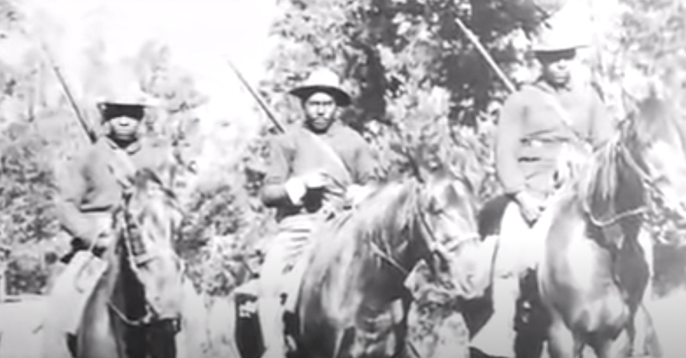 The Buffalo Soldiers were the first Park Protectors (now called Park Rangers).