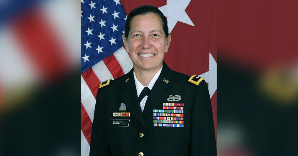 Maj. Gen. Jody J. Daniels.