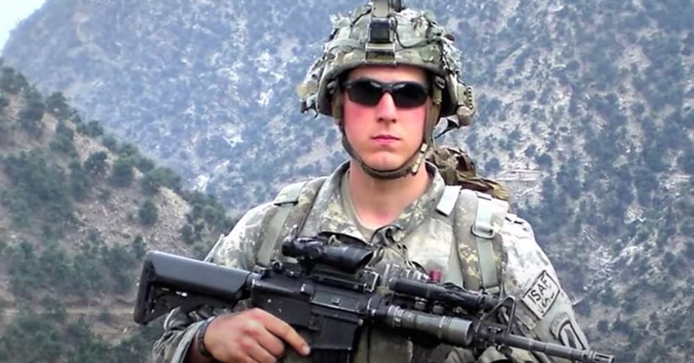 Staff Sgt. Ryan Pitts.