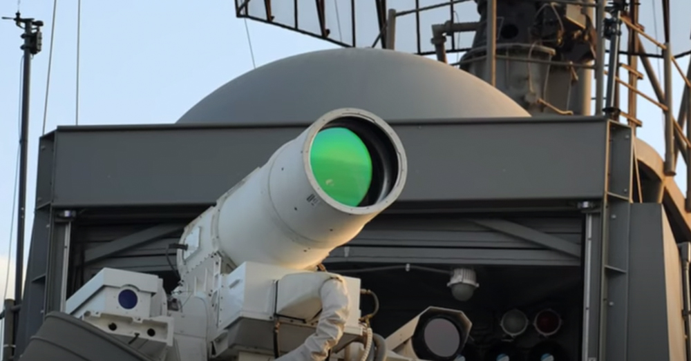 The ODIN laser system has been installed on select Navy warships.