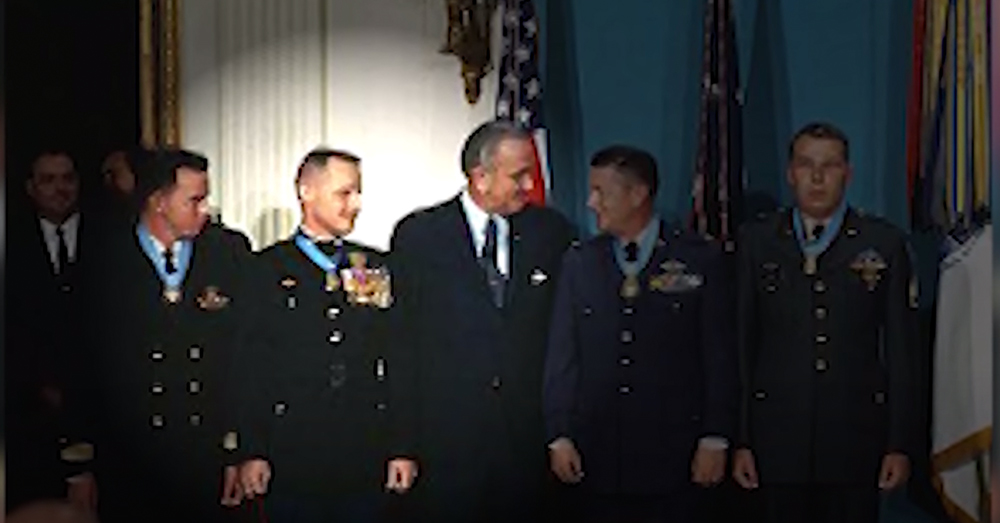Pless was awarded the Medal of Honor for his actions that day.