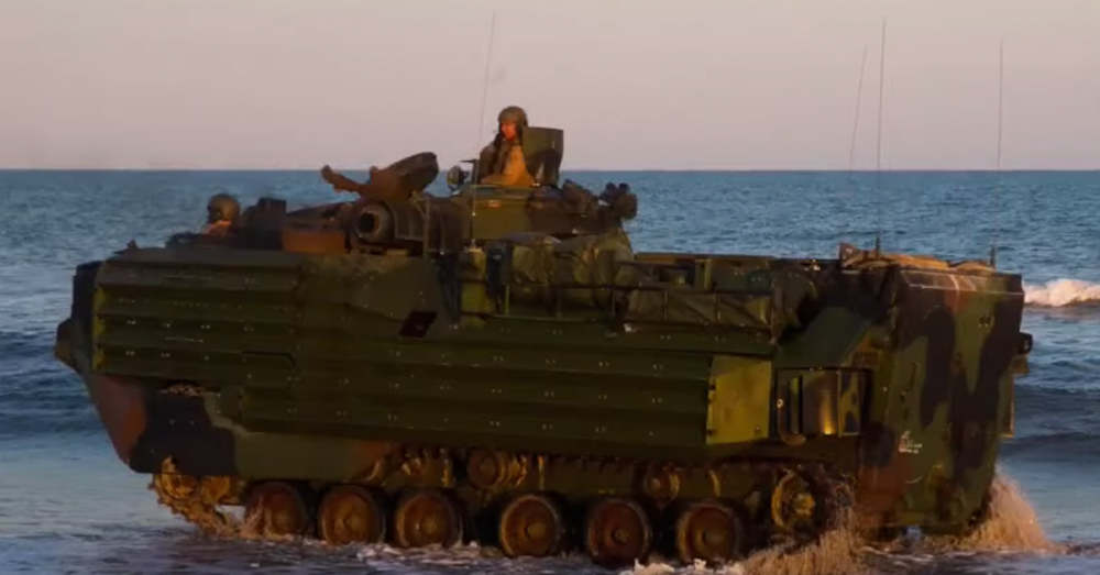 AAV training exercises at sea have been put on hold until this incident can be investigated.
