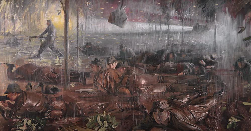 The 1st Australian Task Force (1 ATF) of the Royal Australian Regiment (RAR) fought bravely in the battle of Long Tan.