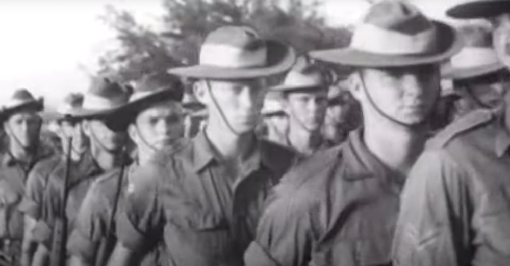 Over 61,000 Australian troops fought in Vietnam throughout the war's duration.