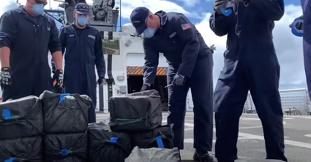 This is a massive haul of cocaine.