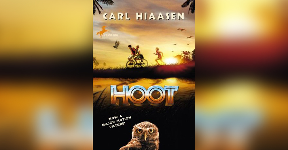 Hoot by Carl Hiaasen.