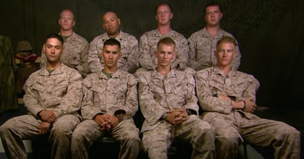 These sets of brothers are all serving together in Afghanistan.