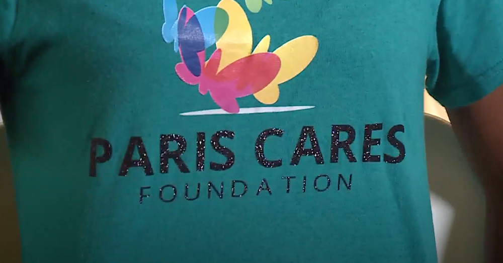 The Paris Cares Foundation is really making a difference.