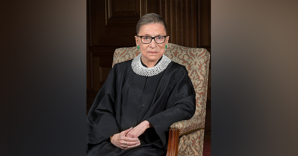 Supreme Court Justice Ruth Bader Ginsberg died at 87 years old.