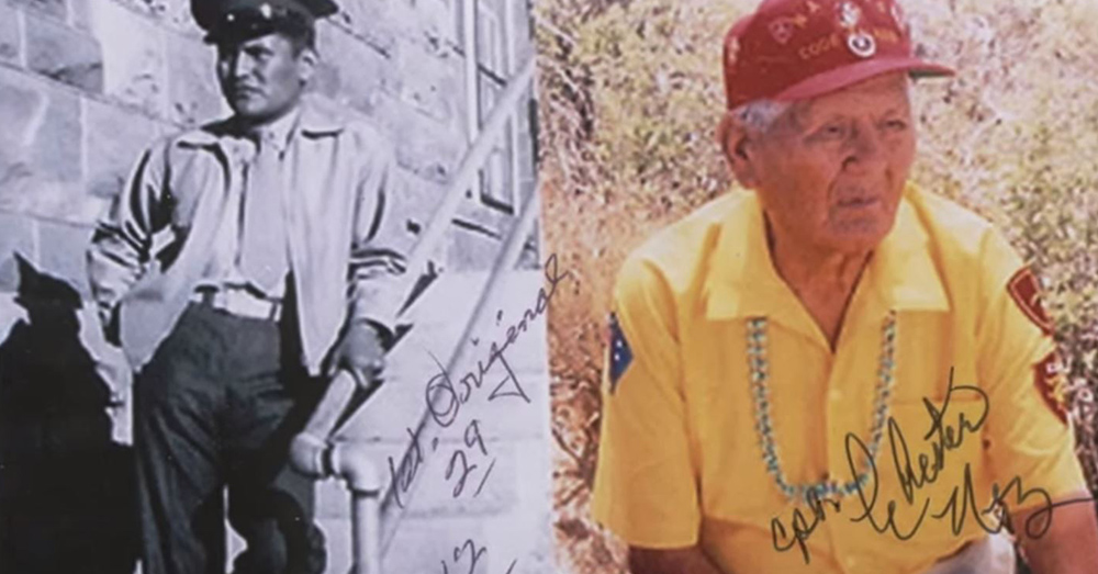 Navajo Code Talker Chester Nez was responsible for helping develop the Navajo Code in World War II.