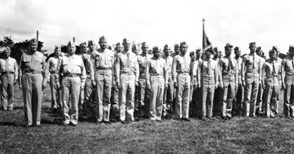 There were 29 original Code Talkers who went to Camp Pendleton, California and trained and developed the Code.