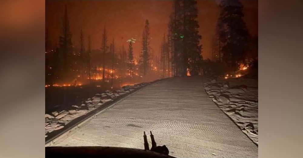 The Creek Fire has burned more than 220,000 acres and is not even fully contained.