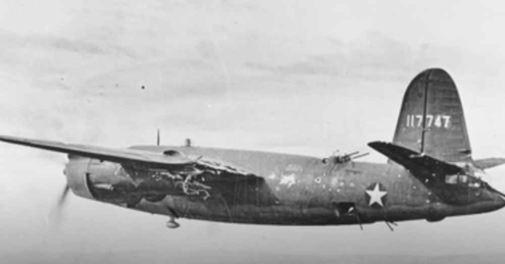 The B-26 Marauder Bomber was a massive aircraft.