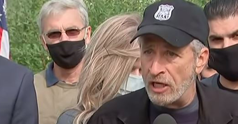 Jon Stewart is standing up for troops and veterans who have been affected by working around burn pits.