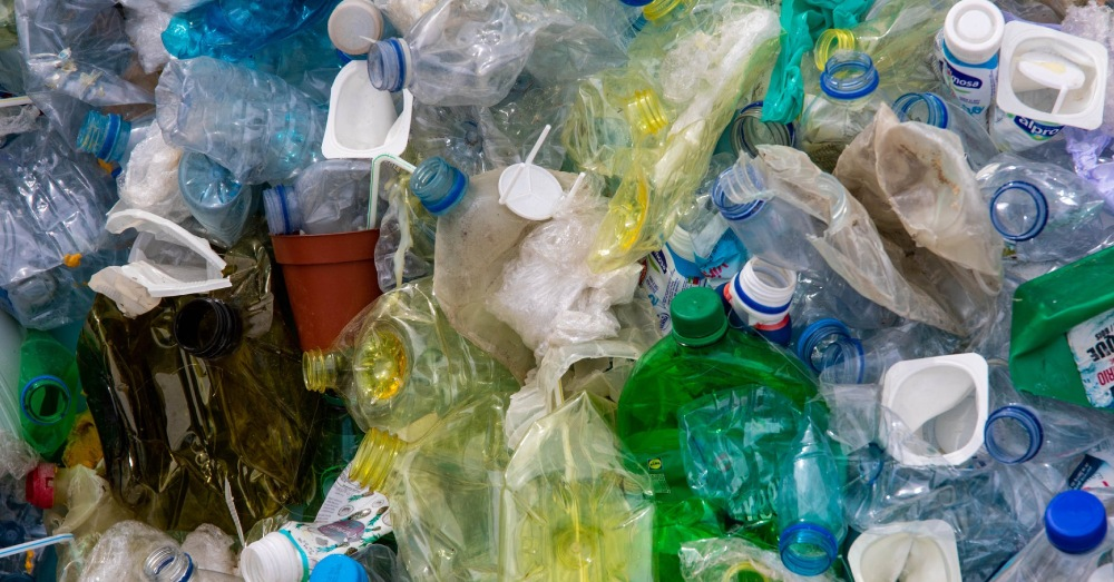 It can be expensive to recycle plastic into a usable form.