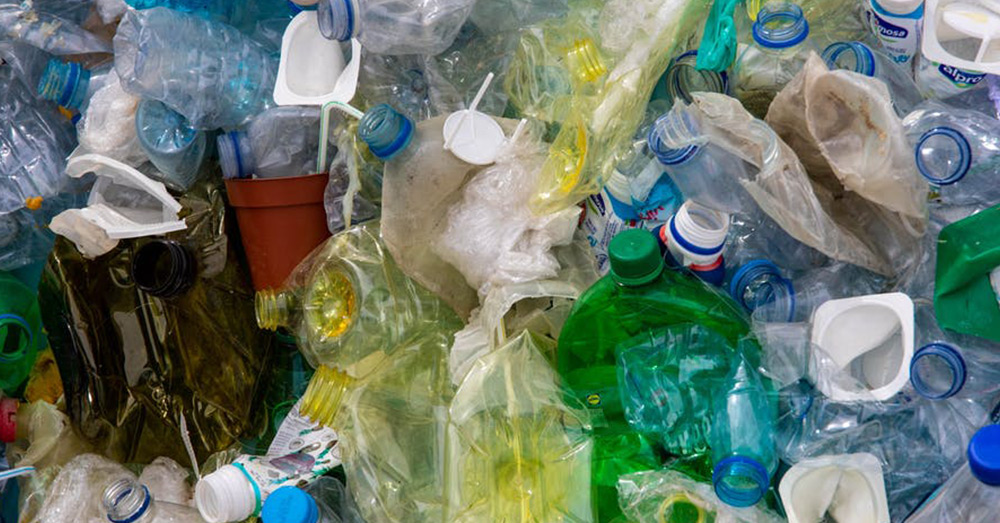 The super-enzyme breaks down PET plastics, which are the most commonly used.