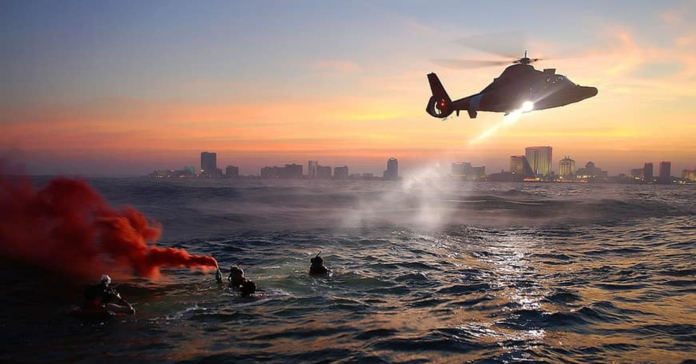 The Coast Guard saves lives and defends our shores, but they also look out for shrimp.