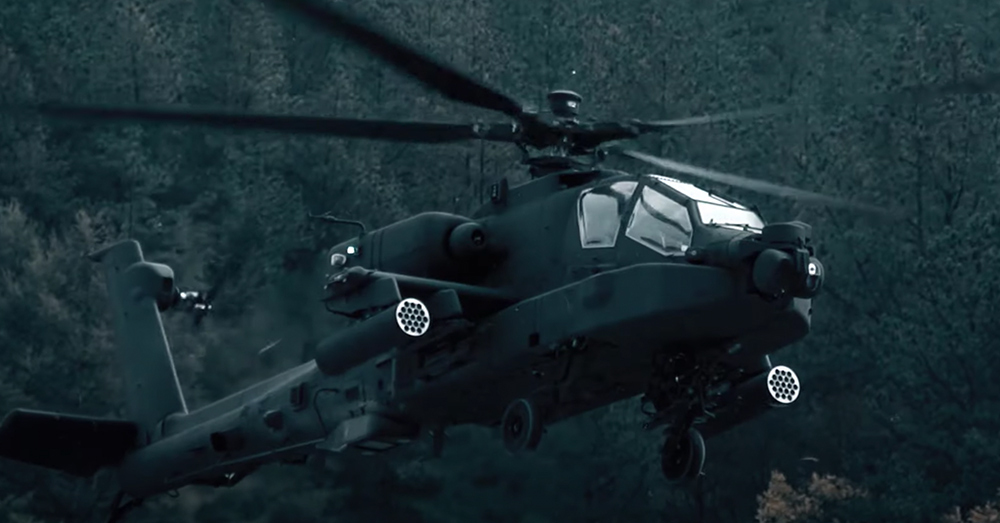 the Apache is designed to be an up close fighting machine.